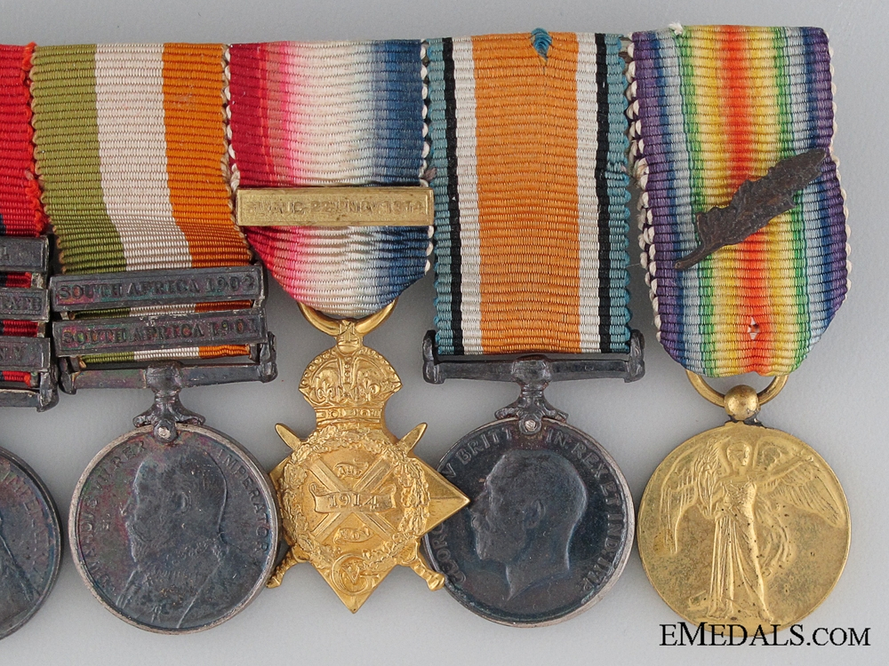 A Boer War & Distinguished Service Order Miniature Group