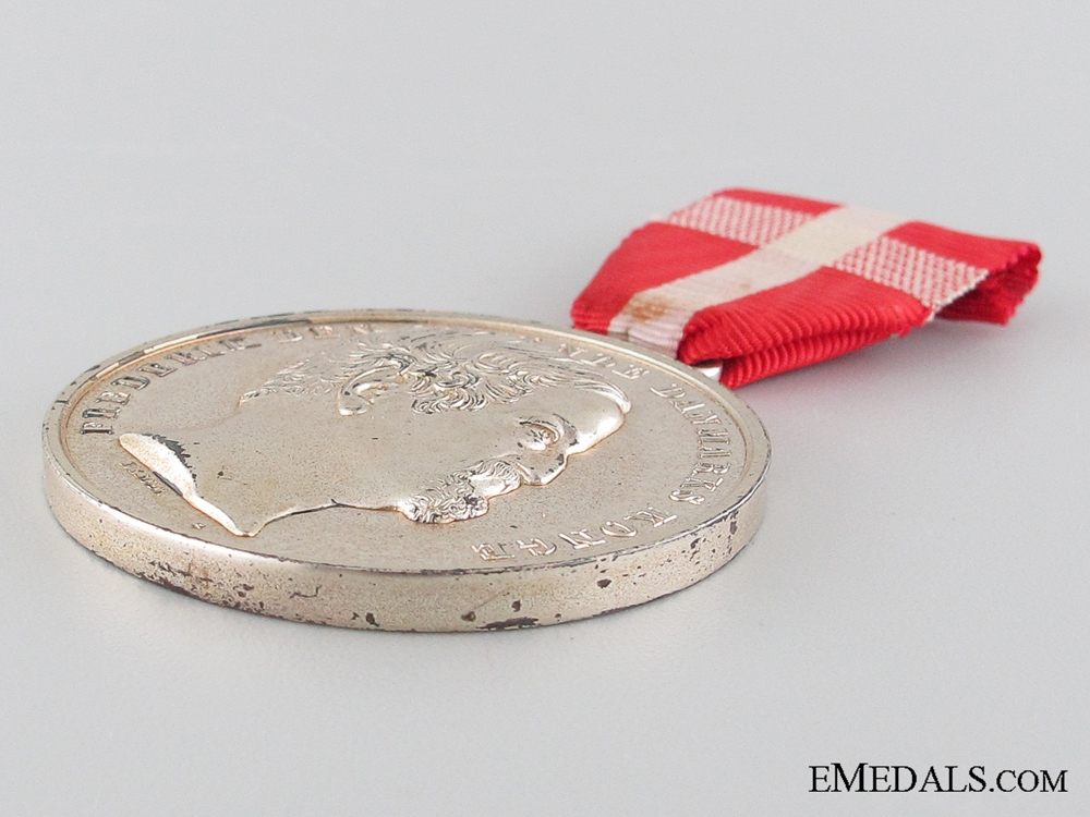 The Danish Medal for Noble Deeds, , SPECIMEN