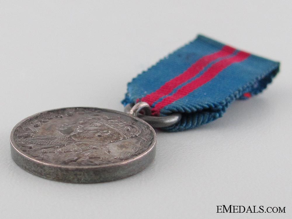 A Miniature 1911 Coronation Medal
