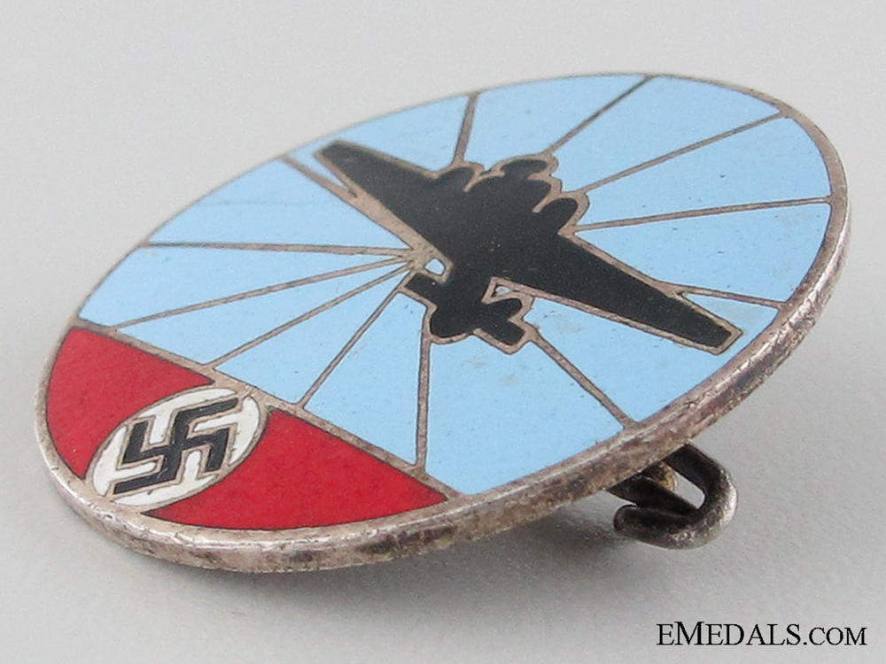 German Aircraft Reporting Service Badge