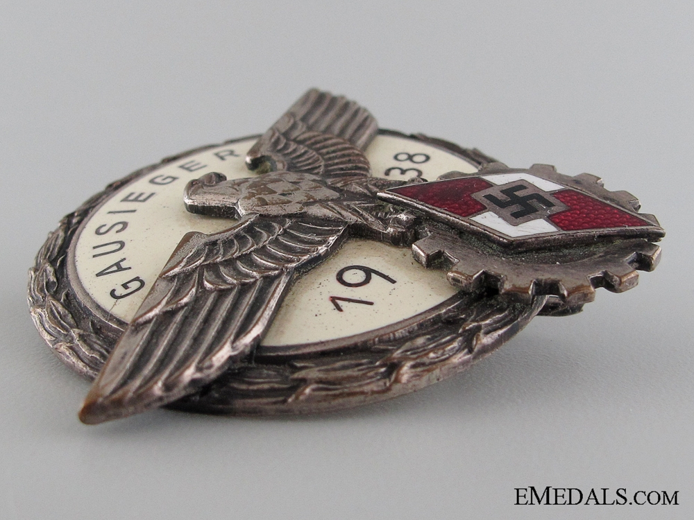 Victors Badge in the National Trade Competition 1938