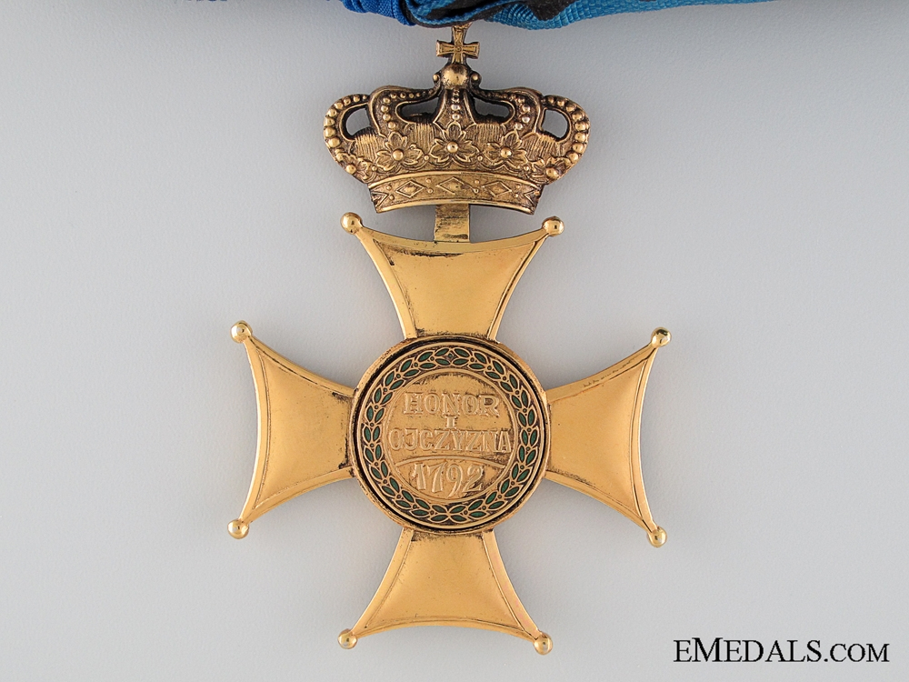 The Order of Virtuti Militari; Second Class