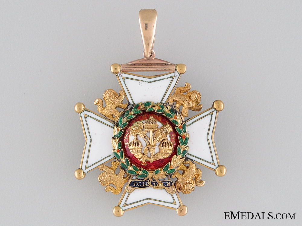 A 19th Century Military Division Order of the Bath in Gold
