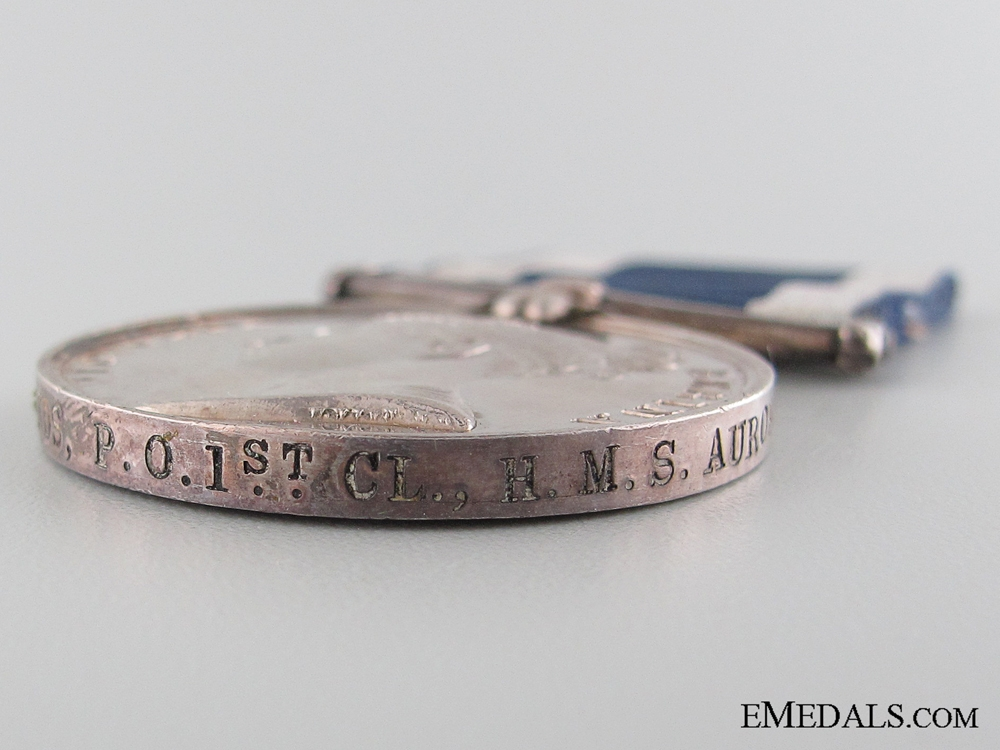 Royal Naval Long Service and Good Conduct Medal; HMS Aurora