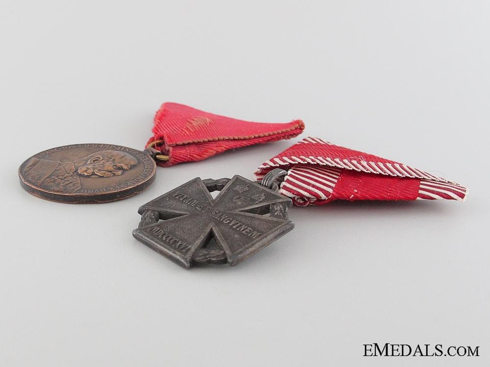 Two First War Austrian Medals