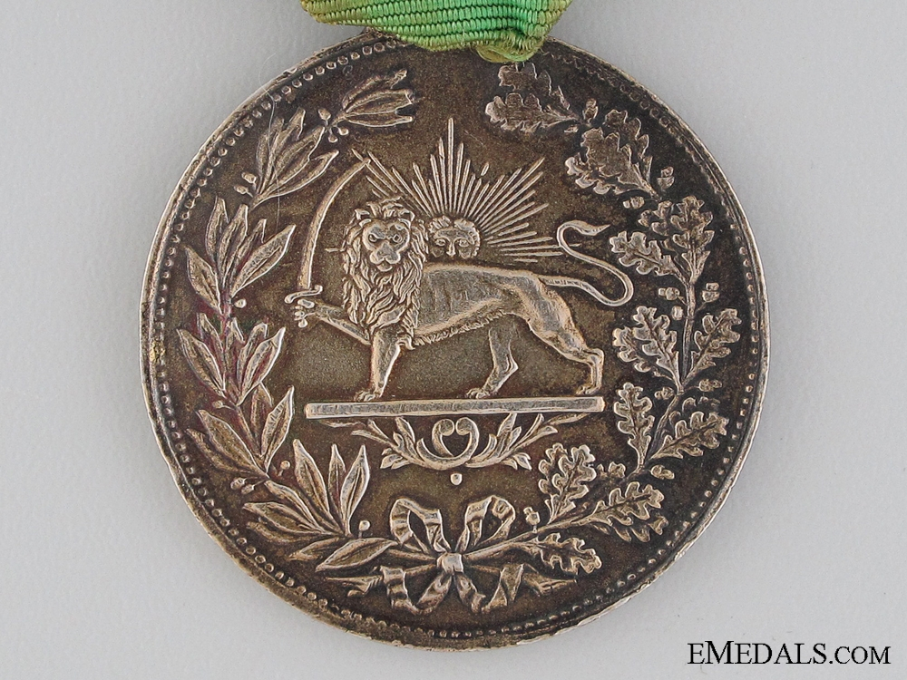 The Iranian Order of Homayoun; Merit Medal