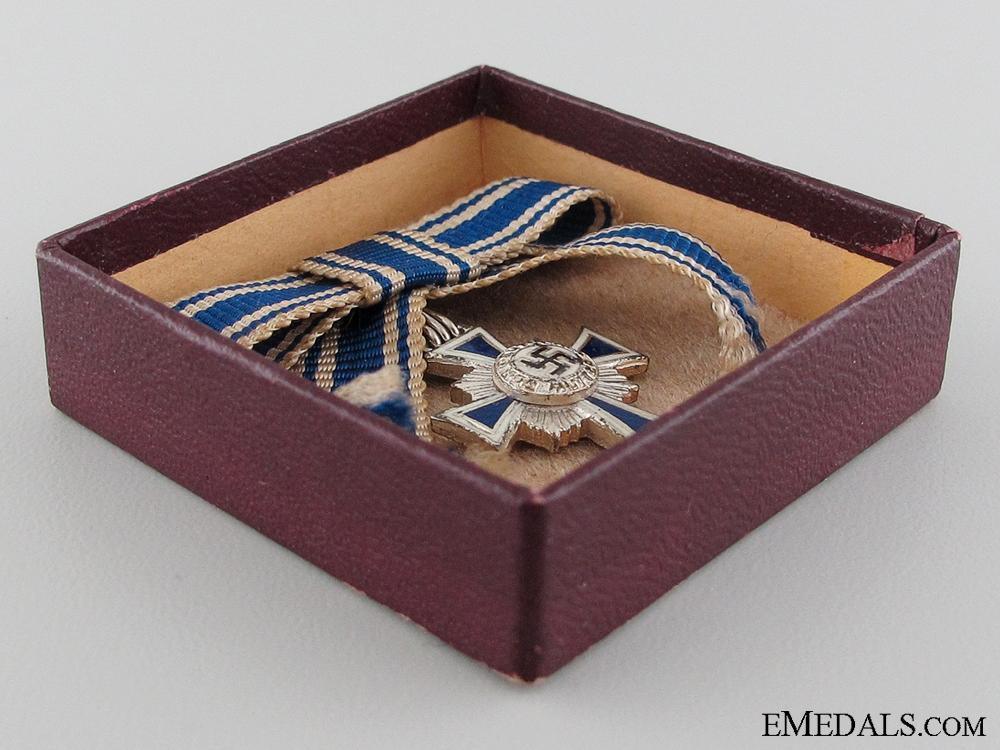 A Miniature German Mother's Cross Silver Grade