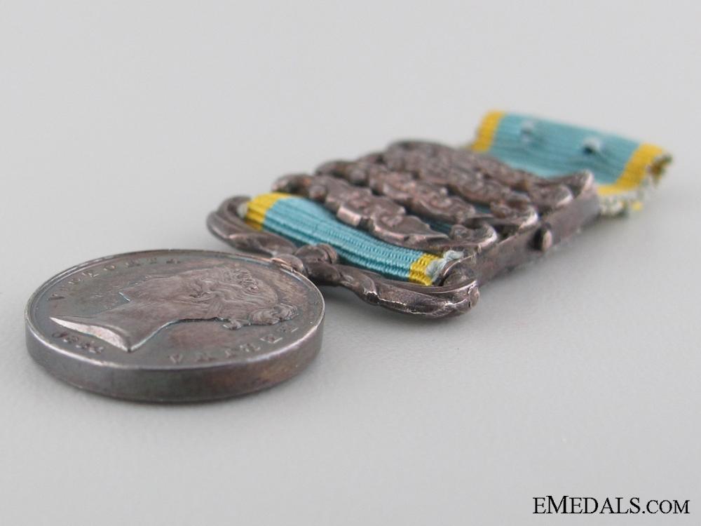 A Miniature Crimea Medal 1854-1856