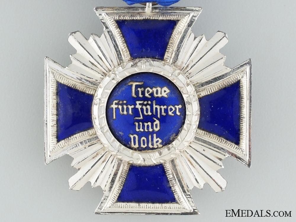 NSDAP Long Service Award; Silver & Maker Marked