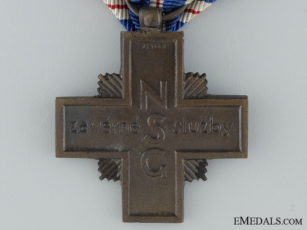 1938 Czechoslovakian Long Service Cross