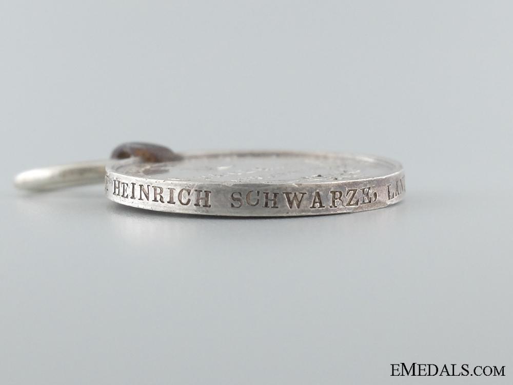 1815 Hannover Waterloo Medal to the Landwehr Battalion Salzgitter