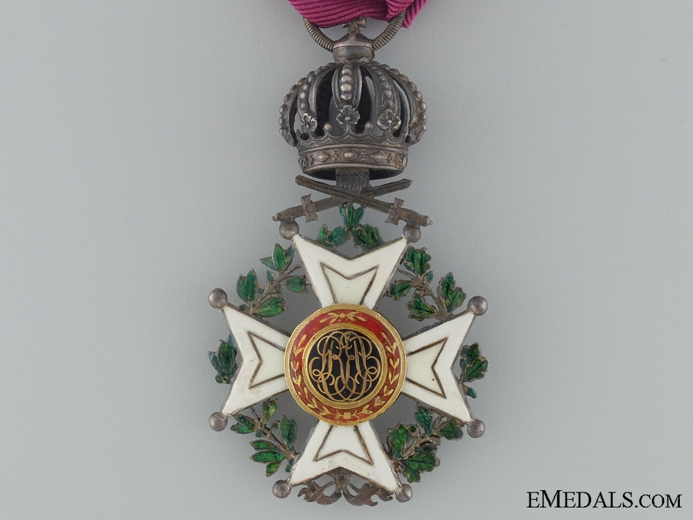 Order of Leopold I; First Class with Swords