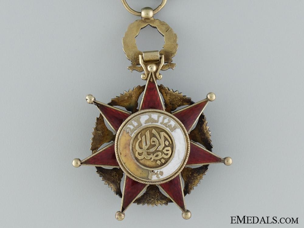 The Iraqi Order of El Rafidain; Knight