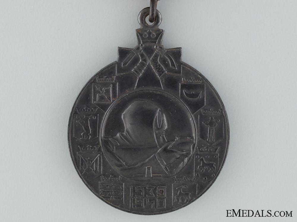 A 1939-1940 Finnish Winter War Medal; Type II