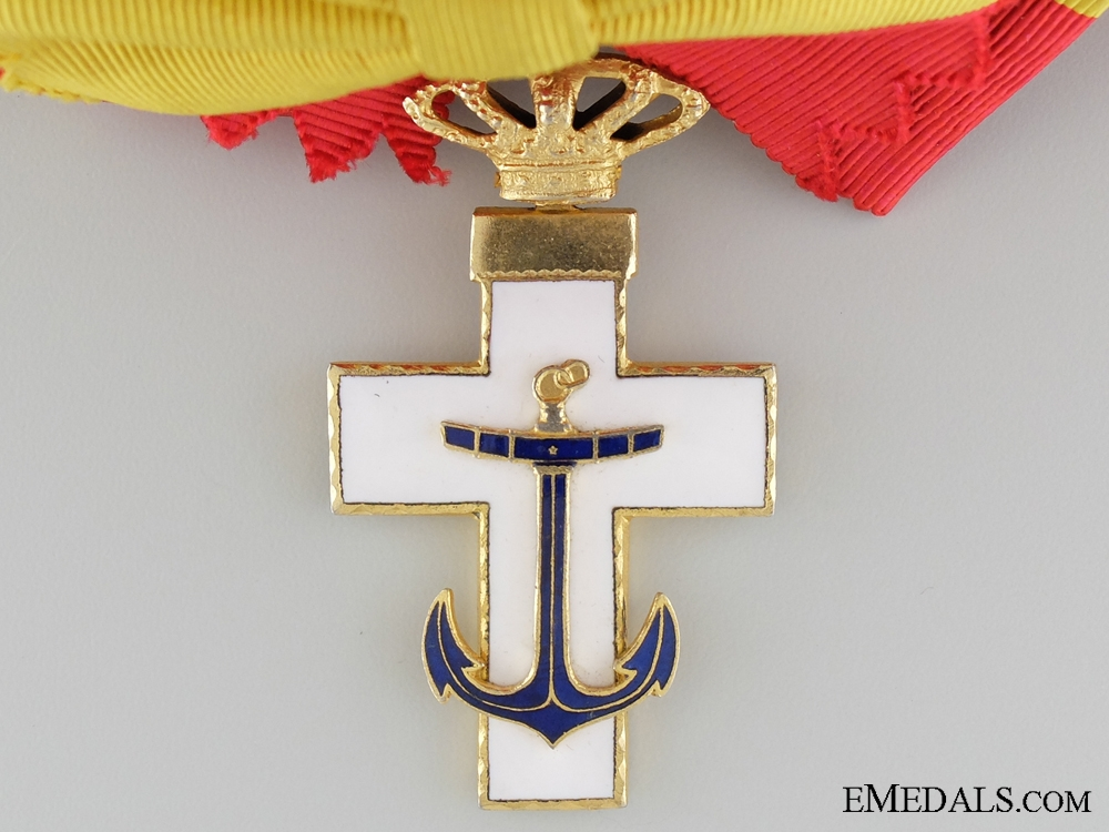 The Spanish Order of Naval Merit 1938-75; Grand Cross