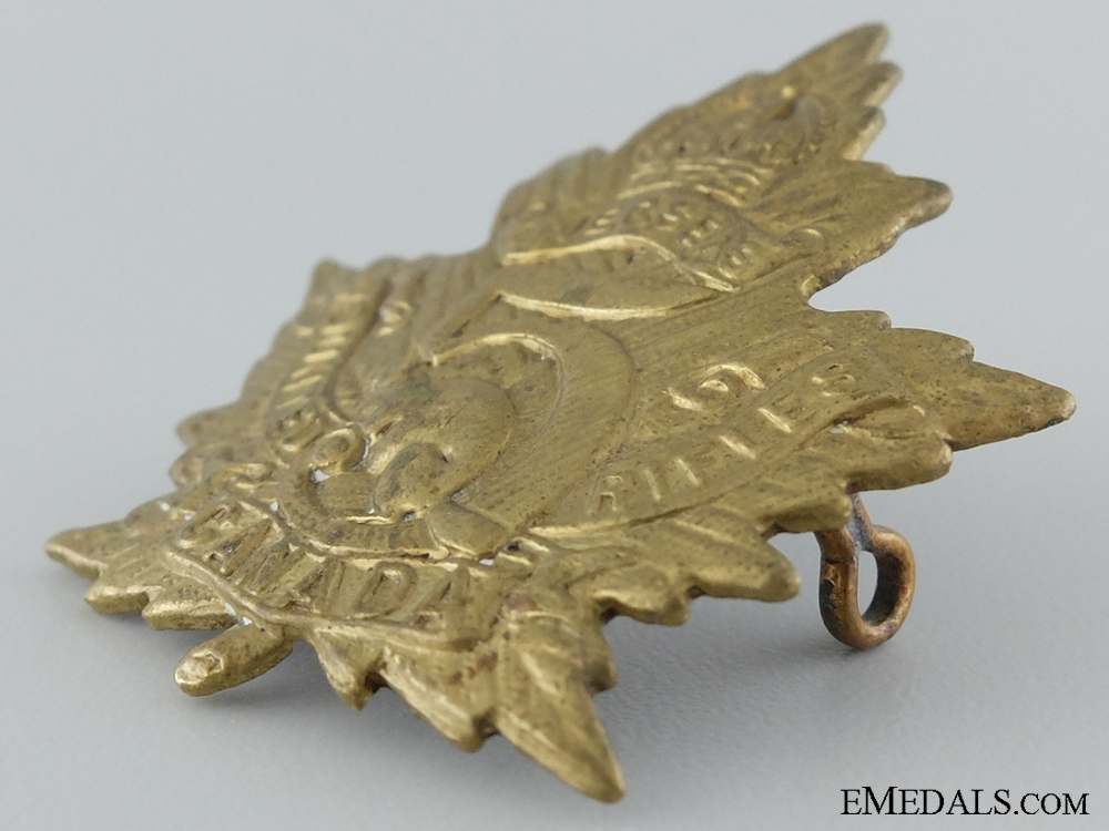 WWI 5th Mounted Rifle Battalion Cap Badge CEF