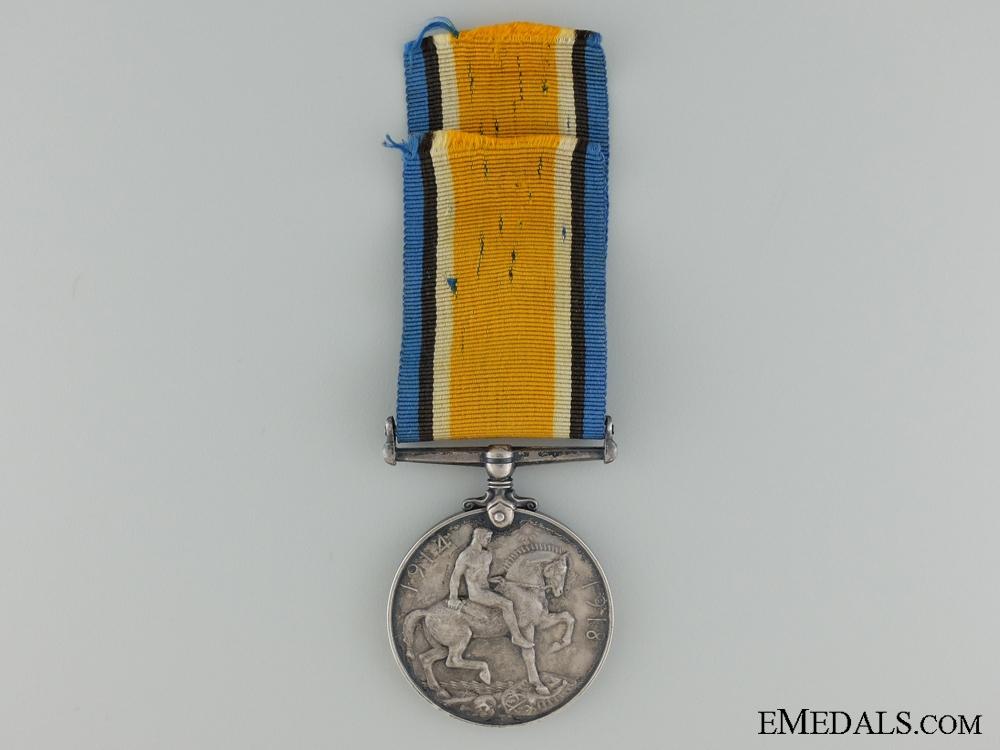 A British War Medal to Canadian 2/Lieut. Schieck RAF