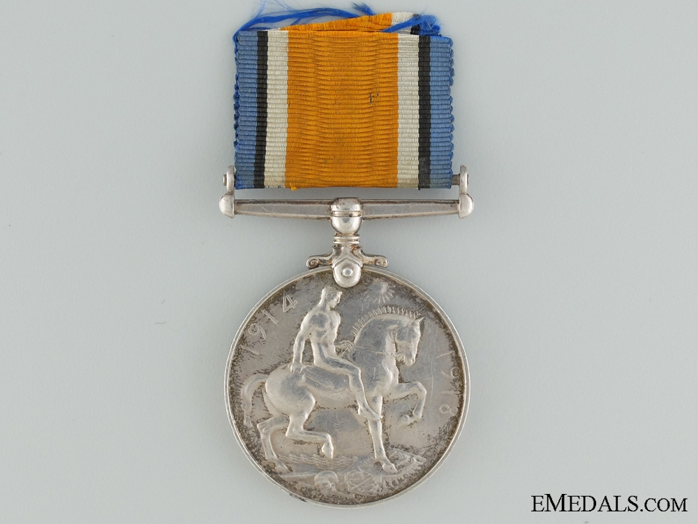 A British War Medal to the Nova Scotia Regiment CEF
