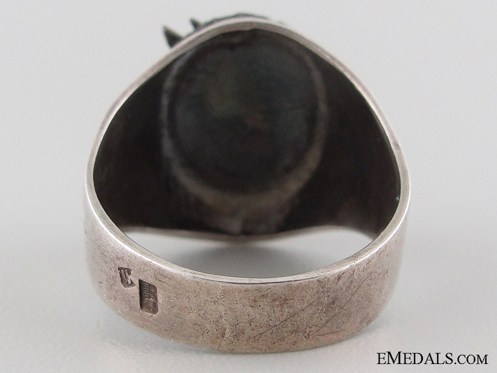 "A Second War German Paratrooper""¢¯s Silver Ring"