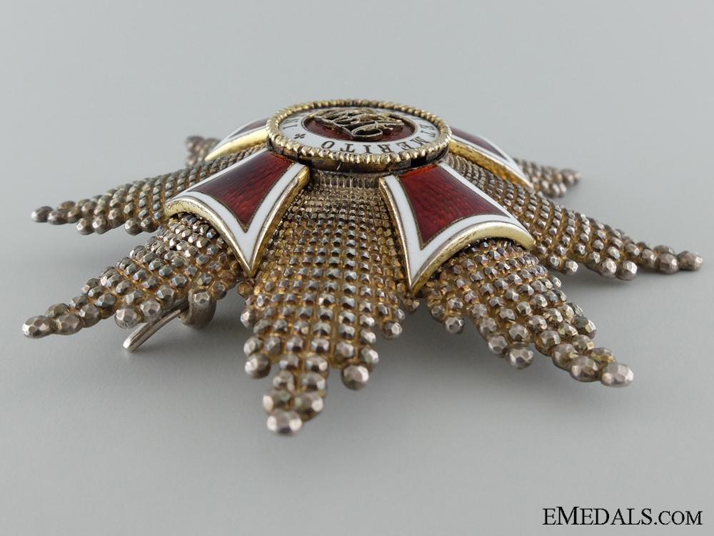 Austrian Order of Leopold; Grand Cross Star