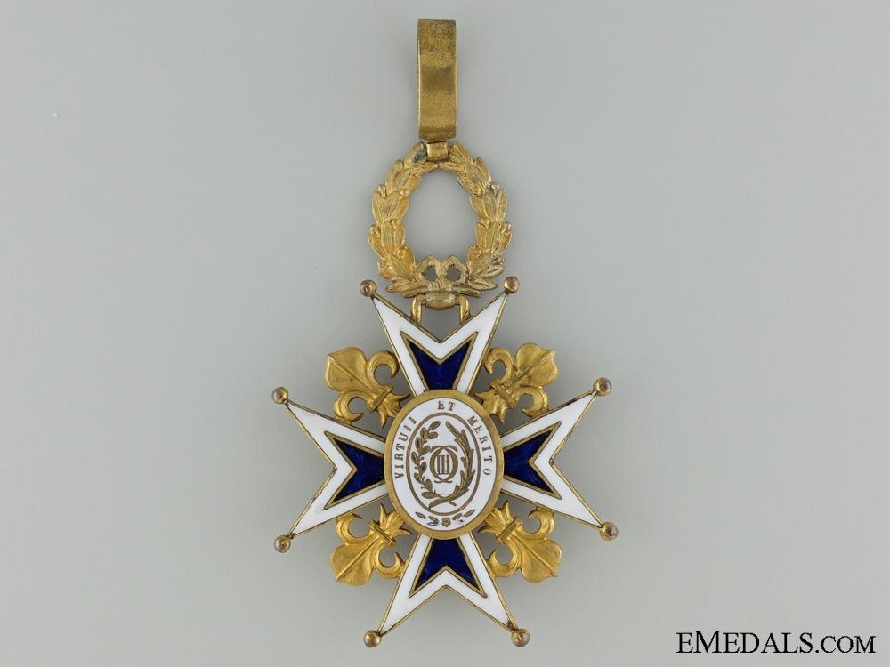 A Spanish Order of Charles III; Commanders Cross