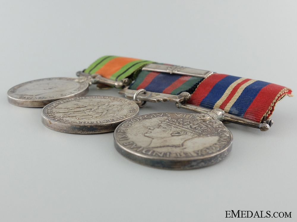 WWII Canadian Group of Three Service Medals