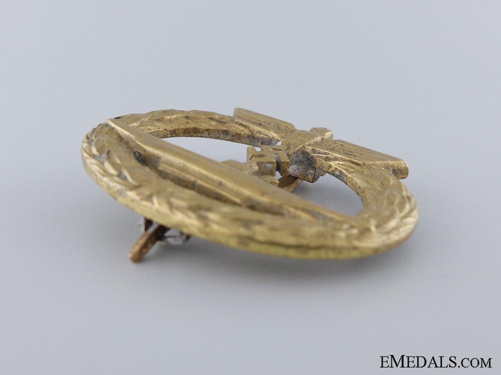 An Early Submarine War Badge