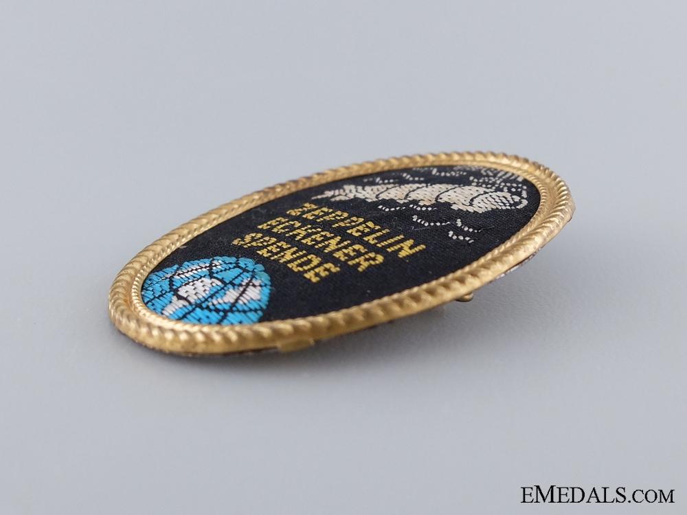 A Rare First War Zeppelin Badge