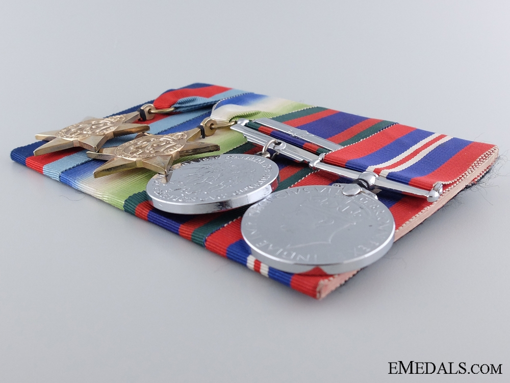 A Canadian Second War Group of Four Campaign Medals