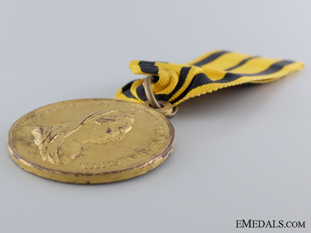 A 1797 Golden Merit Medal for Education