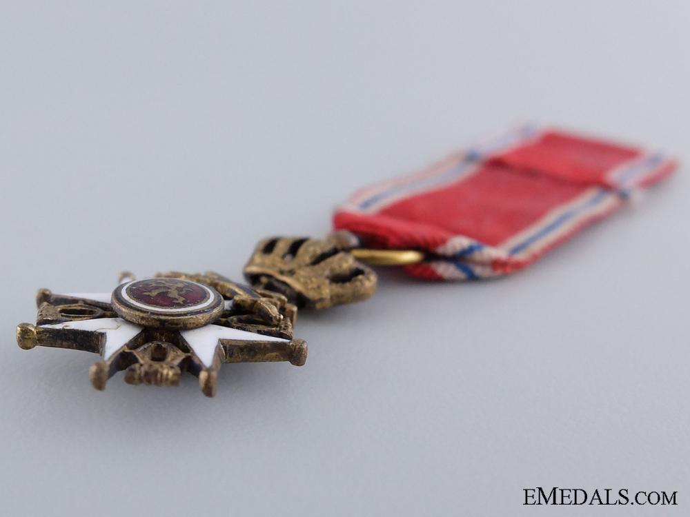 A Miniature Royal Norwegian Order of St. Olav
