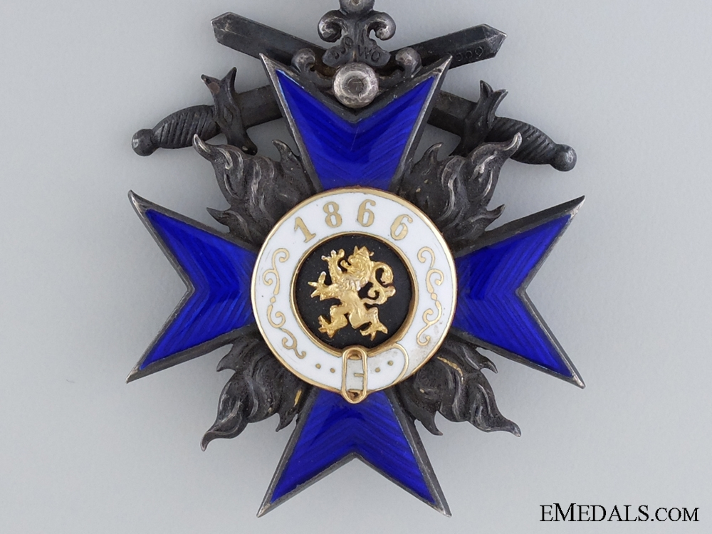 Bavarian Order of Military Merit; Knights Cross Fourth Class with Swords