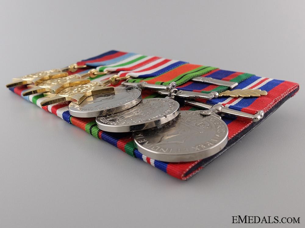 A Canadian Second War Medal Bar