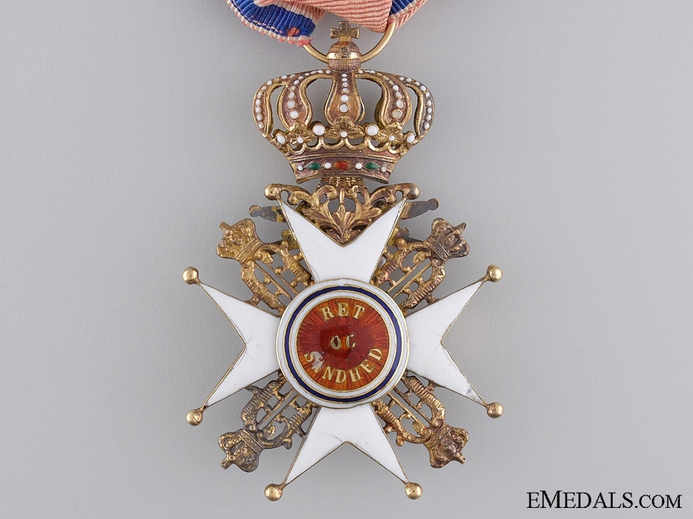 The Royal Norwegian Order of St. Olav; Knight's Cross First Class with Swords