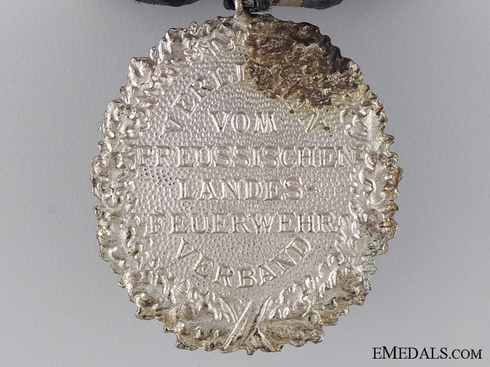 A Prussian Firefighters Twenty-Five Year Service Medal