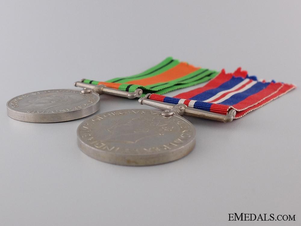 A Second War British War & Defence Medal