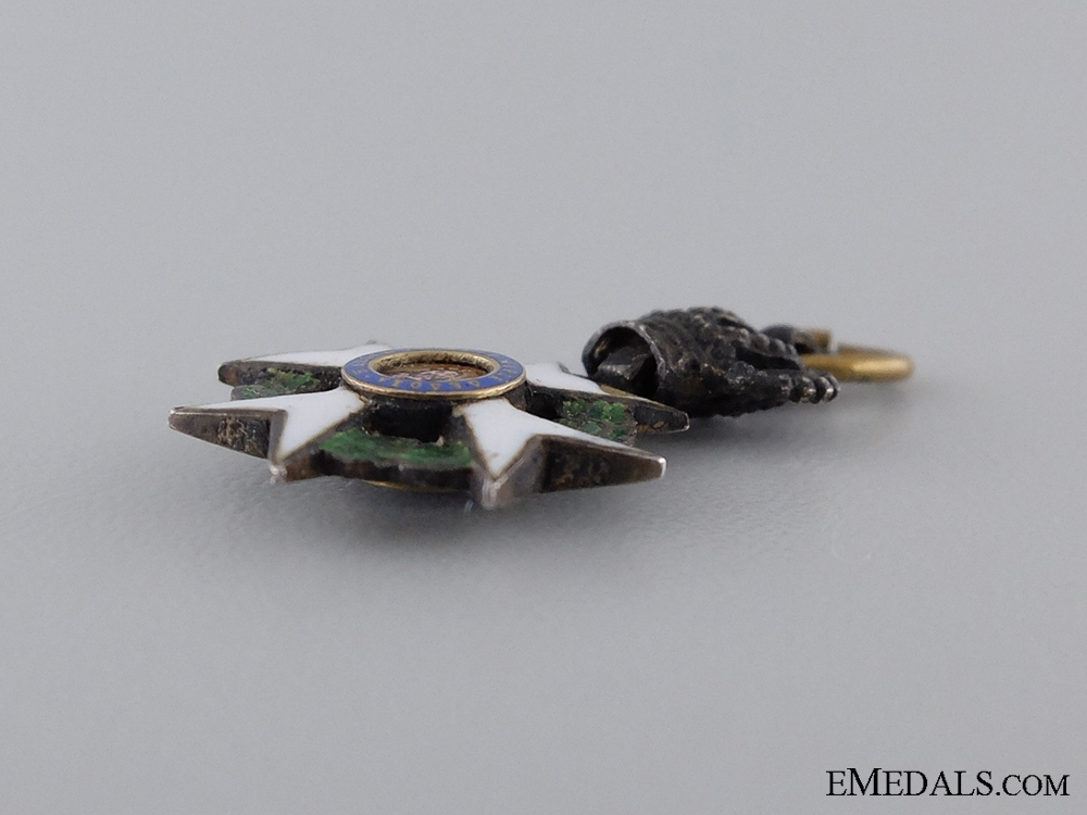 A Miniature Greek Order of the Redeemer
