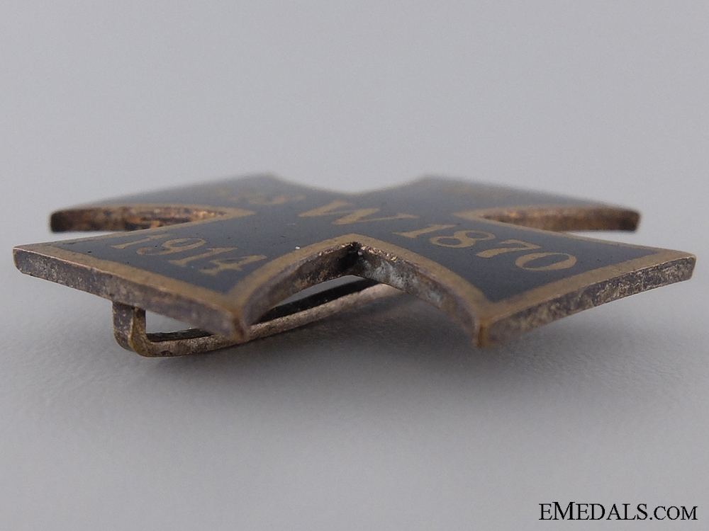 A 1813. 1870, 1914 Patriotic Iron Cross