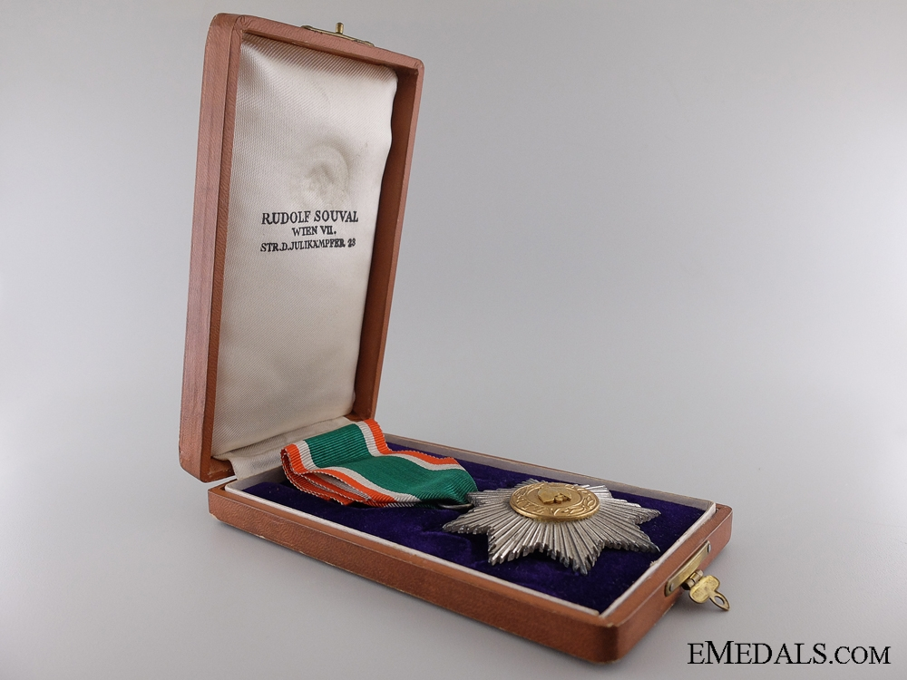 The Order of the Tiger of India; Second Class