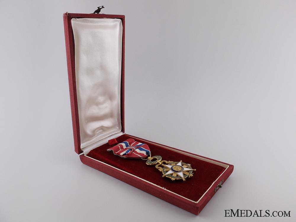 The Merit Order of Paraguay; Officer's Badge