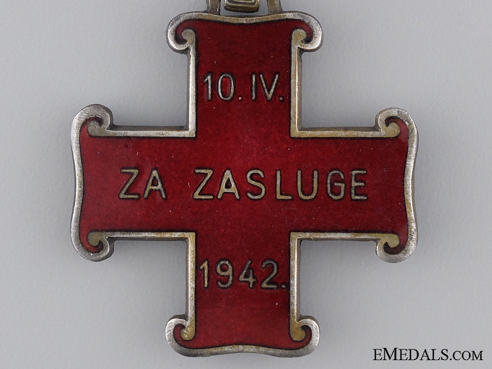 A Croatian Order of Merit; Christian Version; Third Class Cross