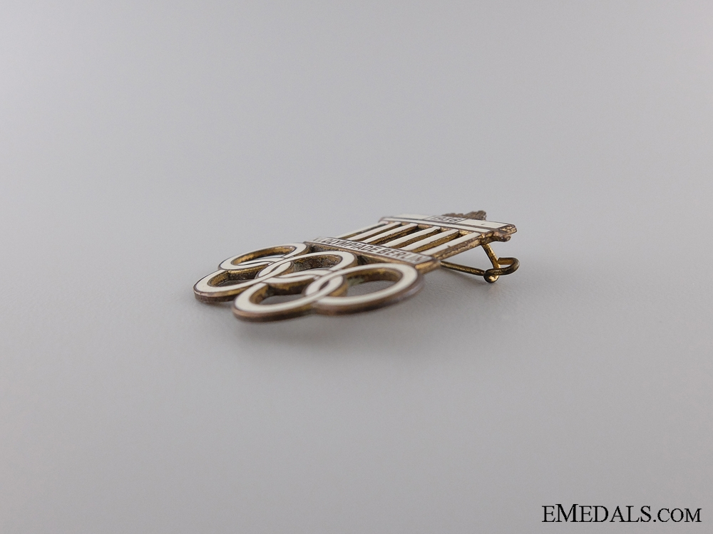 1936 XI Summer Olympic Games Berlin Pin