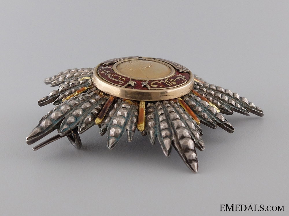 A Turkish Order of Mejidie; Breast Star