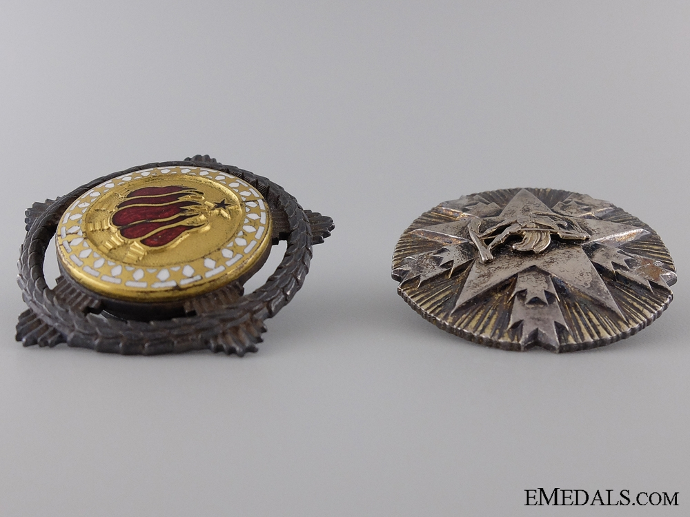 Two Republic of Yugoslavia Orders in Silver