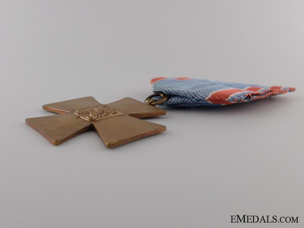 A Czech Volunteer Cross for 1918-1919