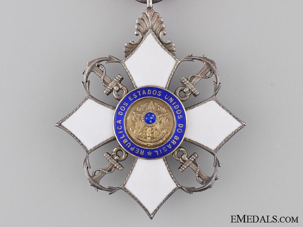 A Brazilian Order of Naval Merit; Chevalier