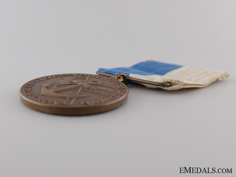 A Swedish Karlskrona Navy Sports Association Medal