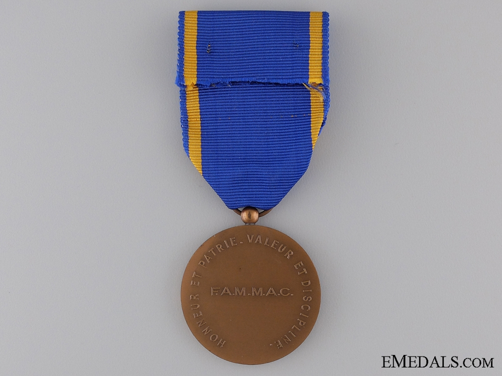 A French Medal of the FAMMAC (Navy Veterans Association)