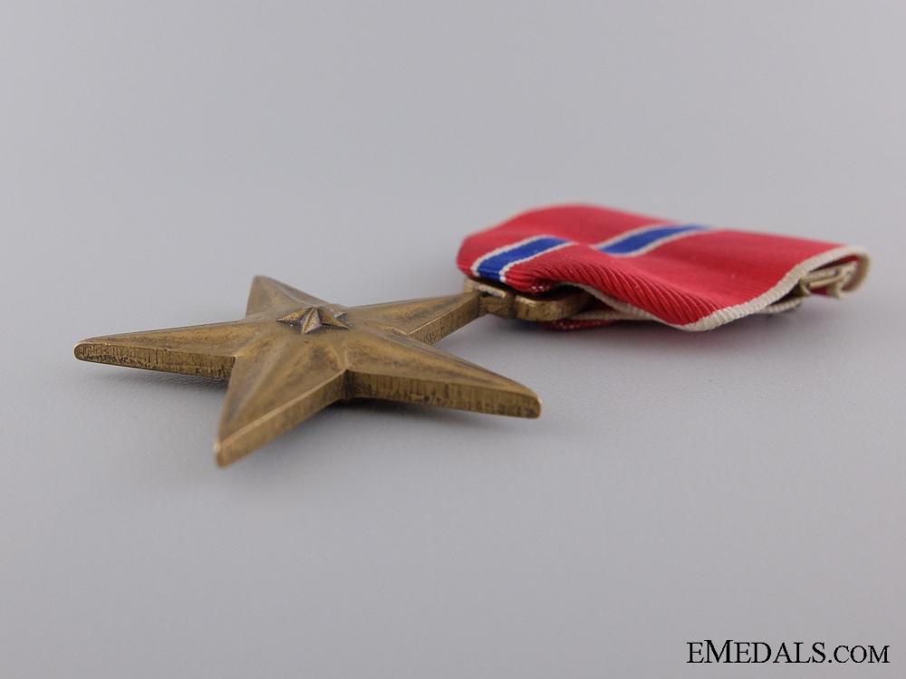An American Bronze Star to Walter Hitt III