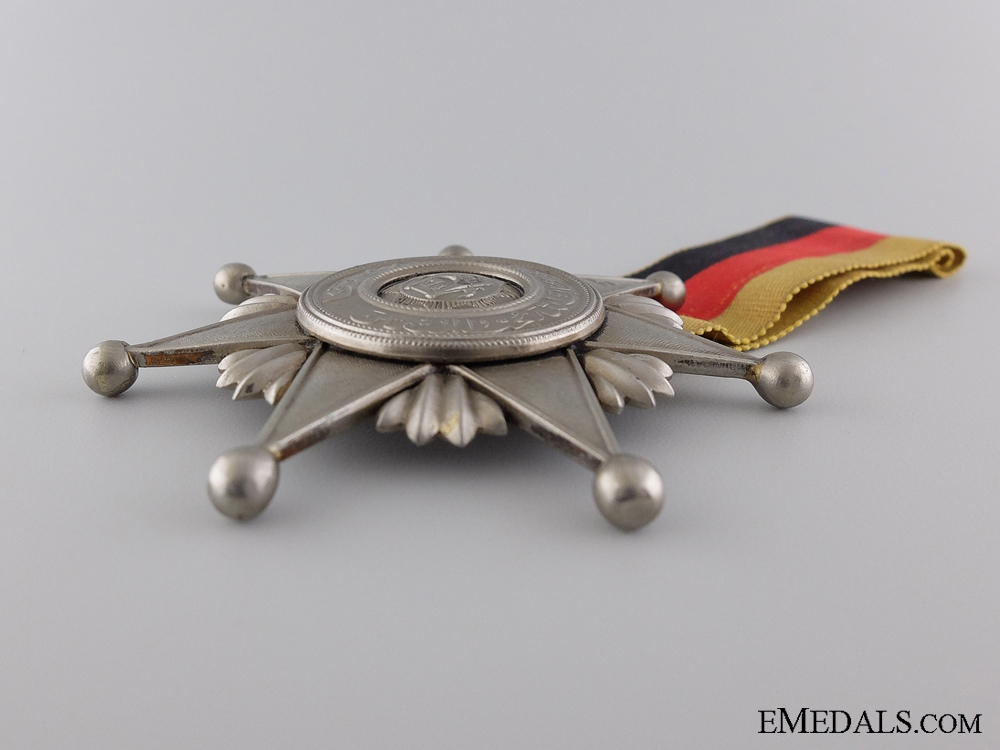 An Afghan Order of Fidelity; Fifth type, Breast Decoration Second Class